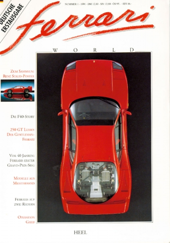 Ferrari World Ausgabe 1