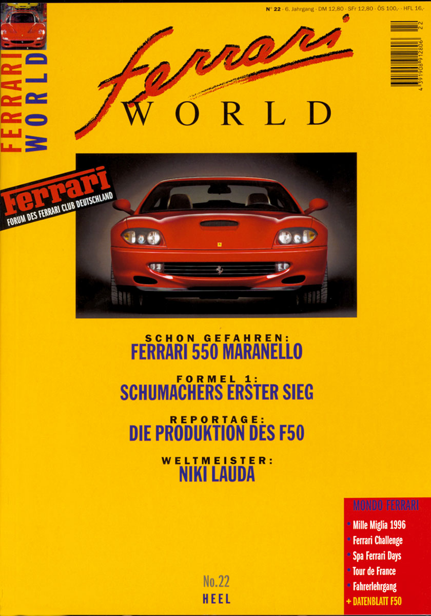 Ferrari World Ausgabe 22