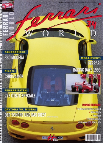 Ferrari World Ausgabe 34