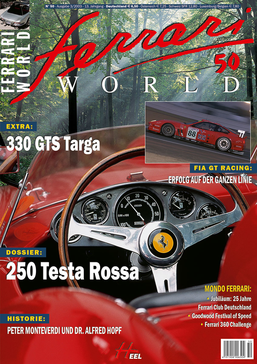 Ferrari World Ausgabe 50