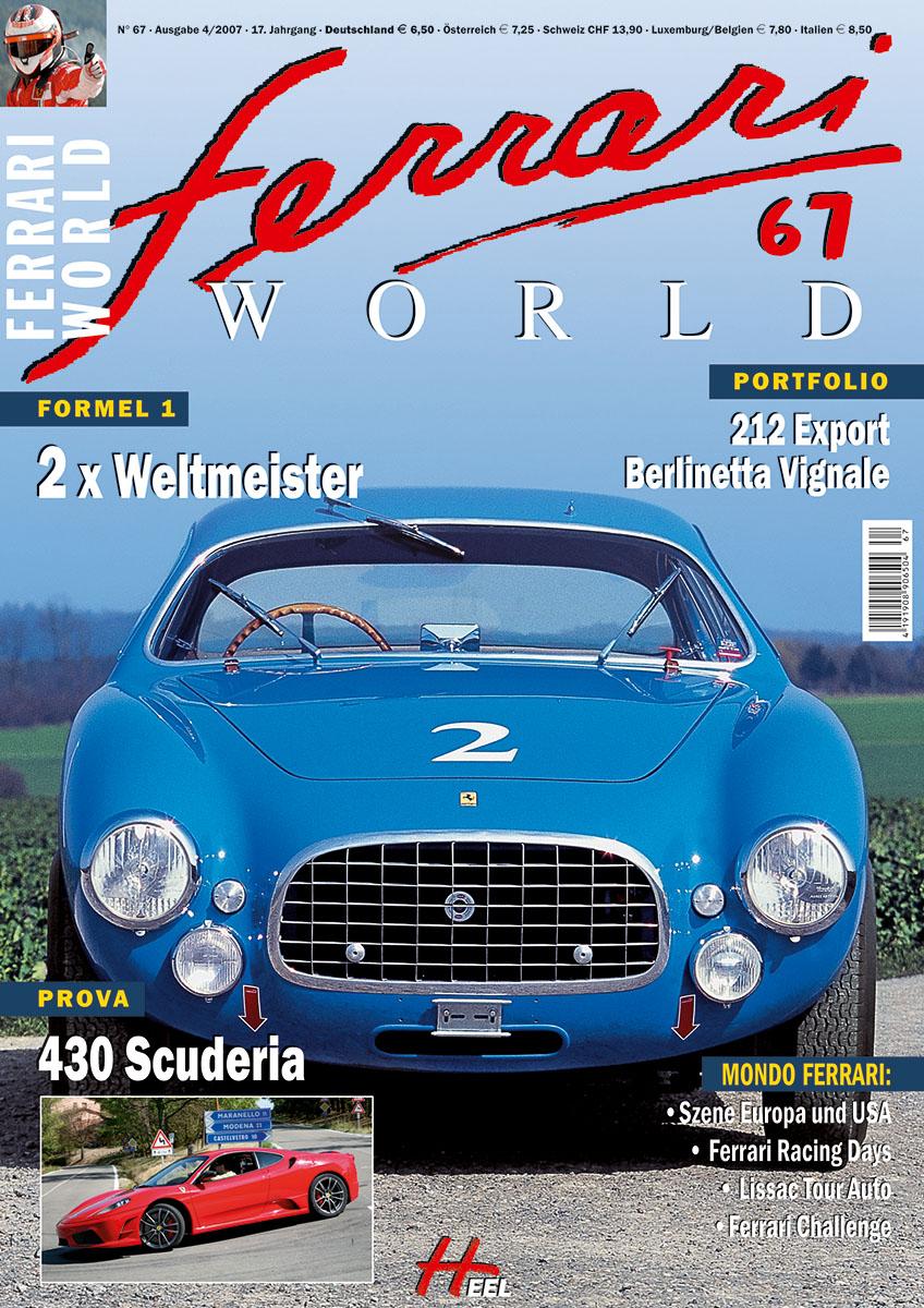 Ferrari World Ausgabe 67