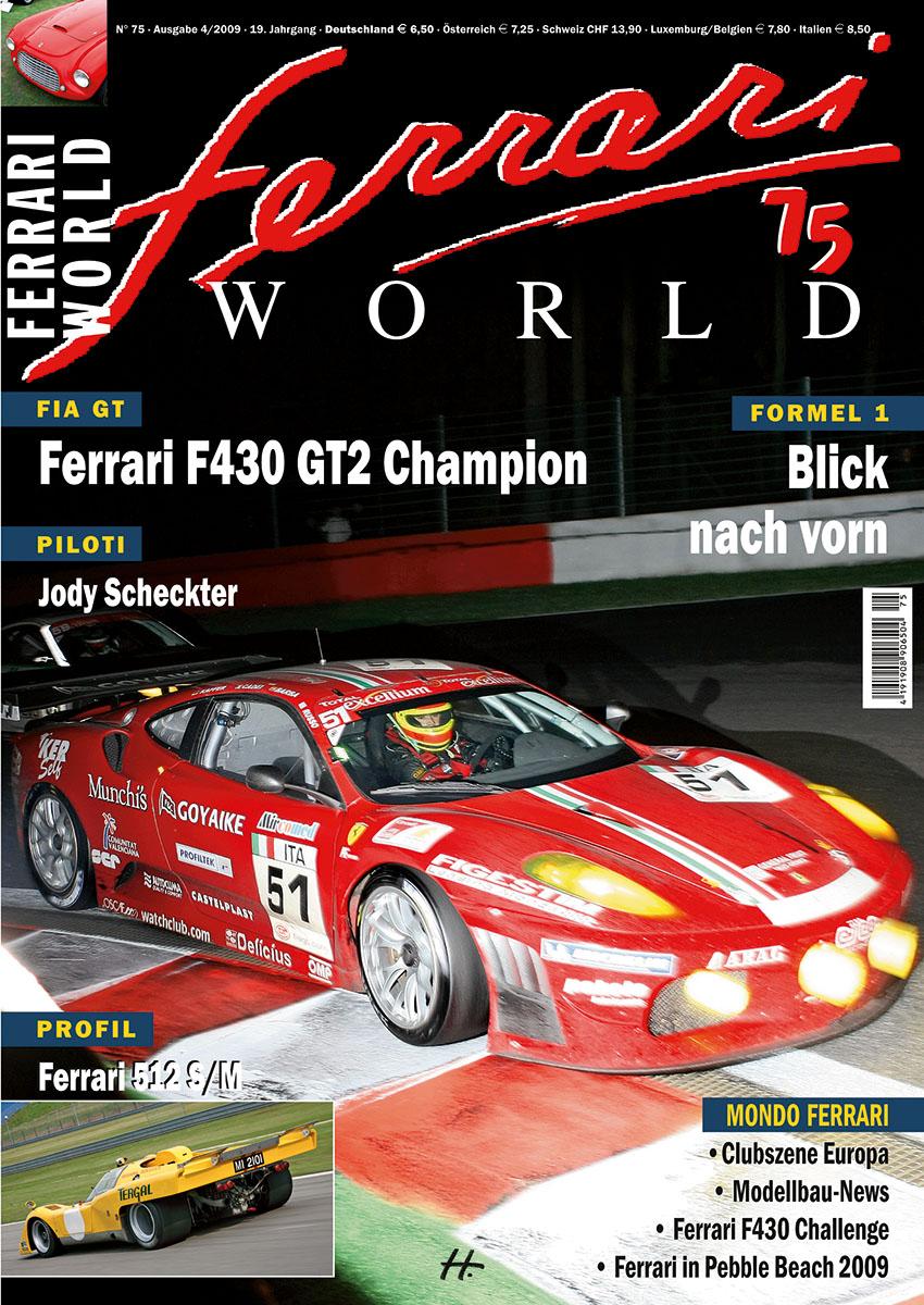 Ferrari World Ausgabe 75