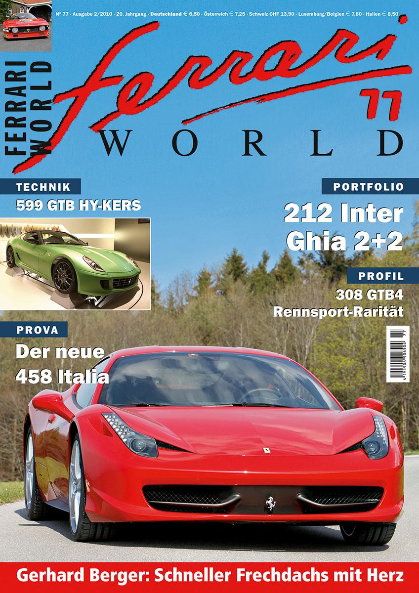 Ferrari World Ausgabe 77