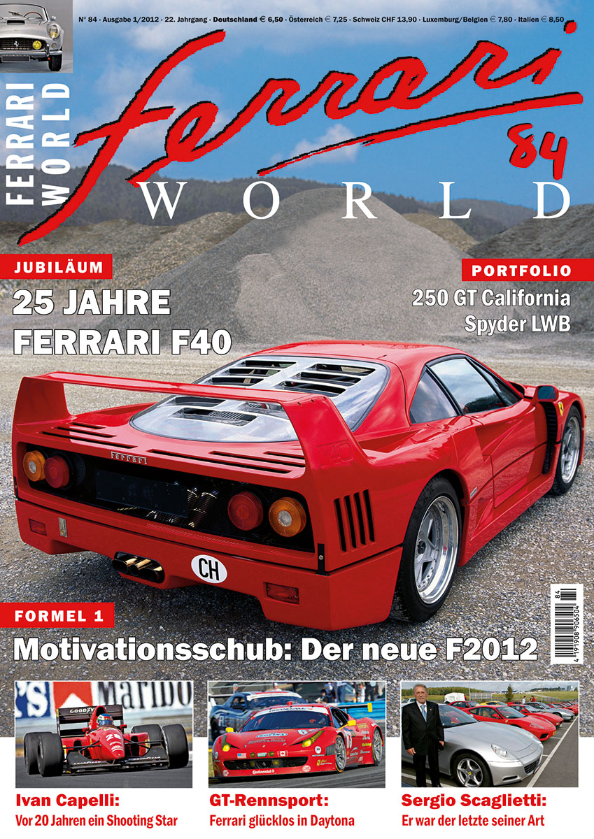 Ferrari World Ausgabe 84