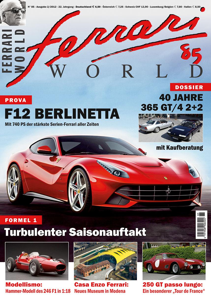 Ferrari World Ausgabe 85