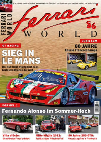 Ferrari World Ausgabe 86