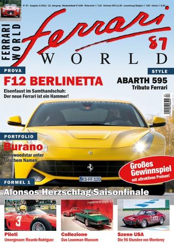 Ferrari World Ausgabe 87
