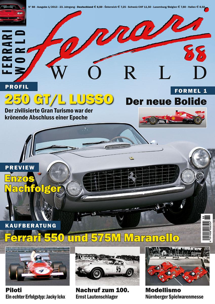 Ferrari World Ausgabe 88