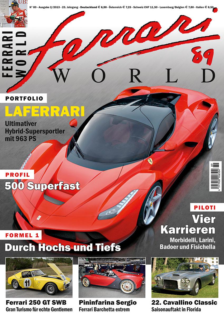 Ferrari World Ausgabe 89