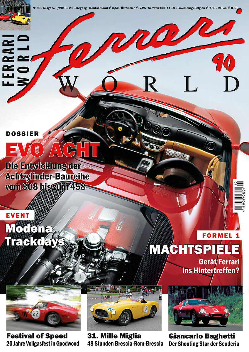 Ferrari World Ausgabe 90
