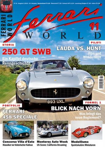 Ferrari World Ausgabe 91