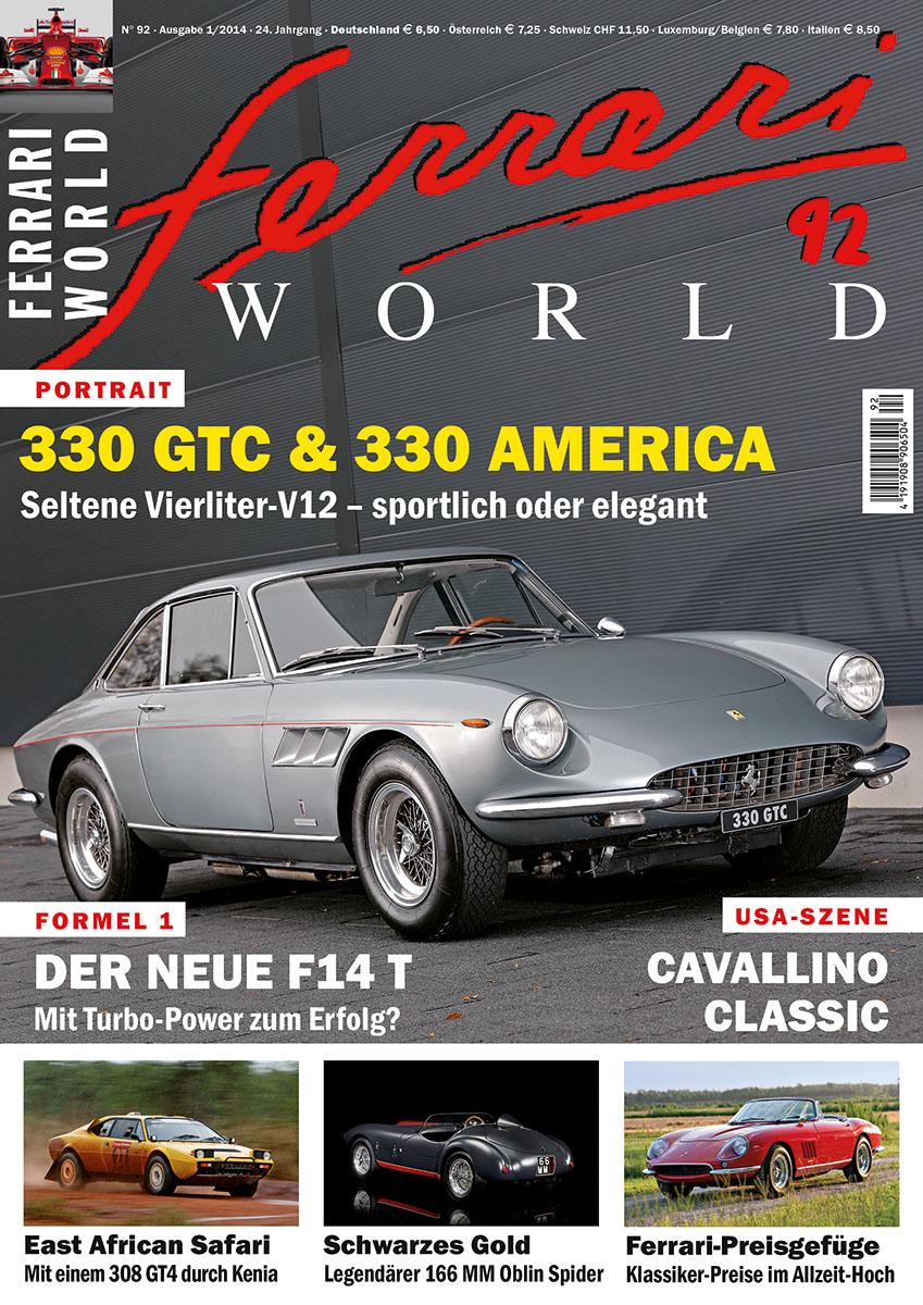 Ferrari World Ausgabe 92