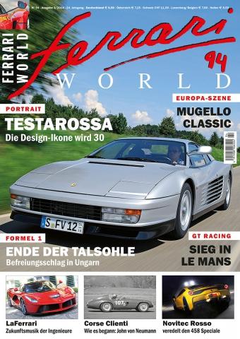 Ferrari World Ausgabe 94
