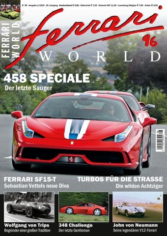 Ferrari World Ausgabe 96