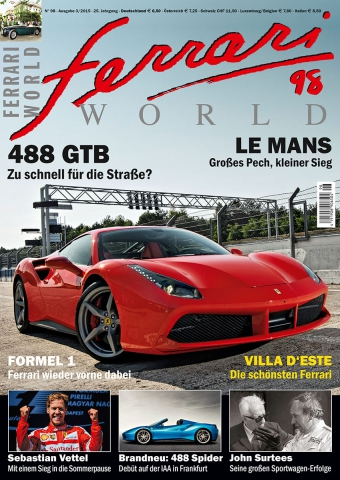 Ferrari World Ausgabe 98