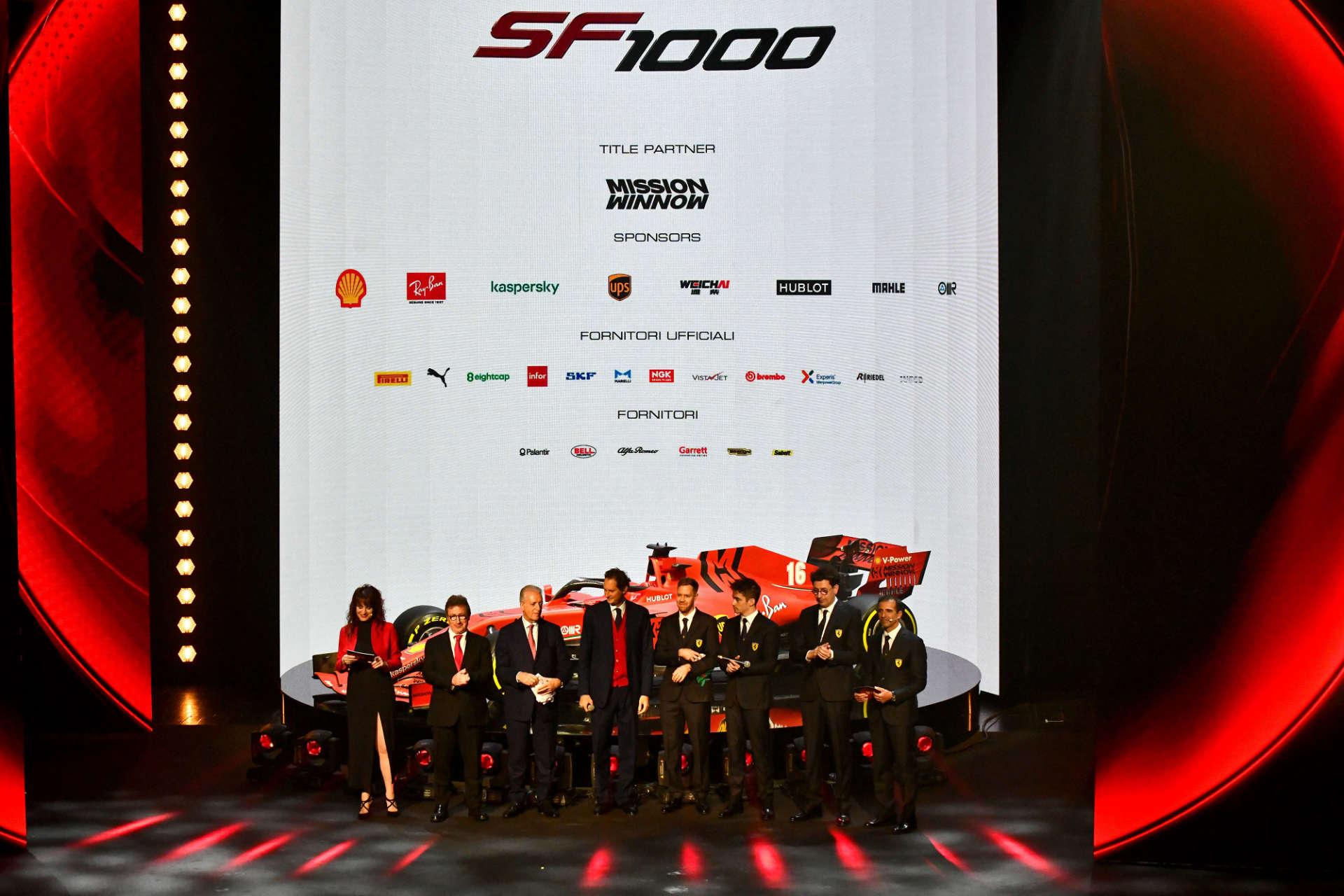 Ferrari F1-Präsentation 2020