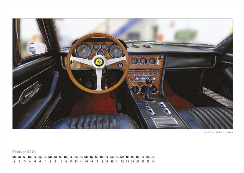 Ferrari Dashboards 2021
