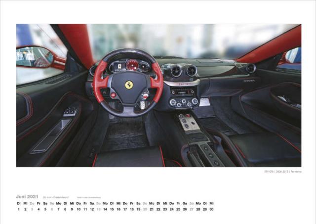 Ferrari Innen Kalender