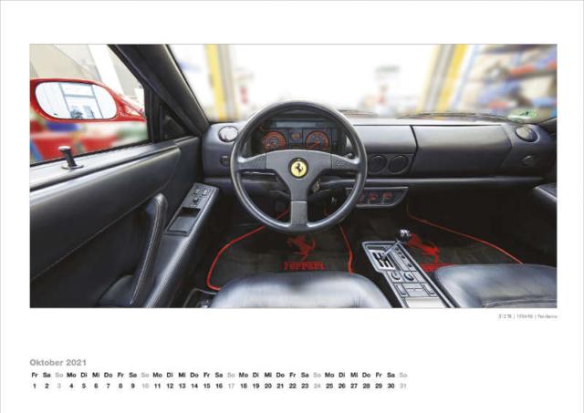 Ferrari Kalender 2021