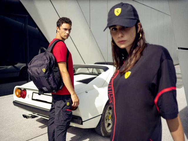 Puma Scuderia Ferrari Kollektion Frühjahr Sommer 2021